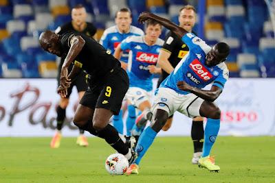 صور.. أبرز مشاهد تعادل نابولي ضد الانتر في كاس ايطاليا