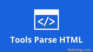 Cara Memasang Tools Parse HTML Di Blogger