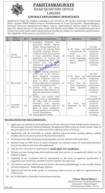 pakistan-railways-jobs-2021-latest-advertisement
