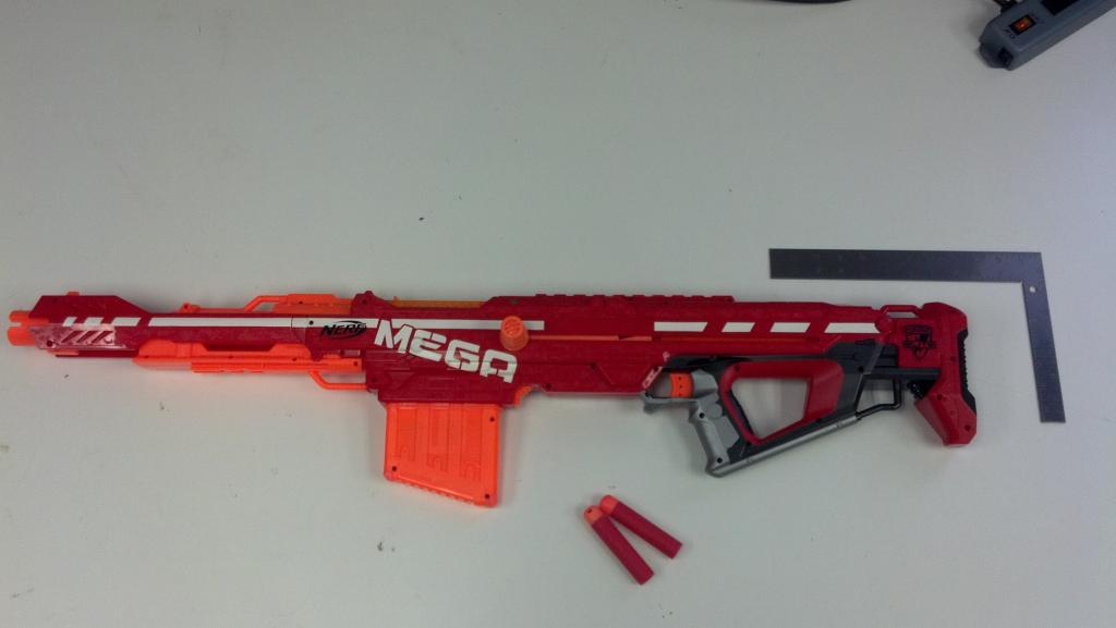 Urban Taggers.: Nerf Haven: Nerf Mega Centurion internals