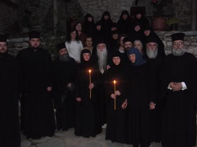 Νέες Μοναχές στην Ιστορική Μονή Αγίων Θεοδώρων Αροανίας