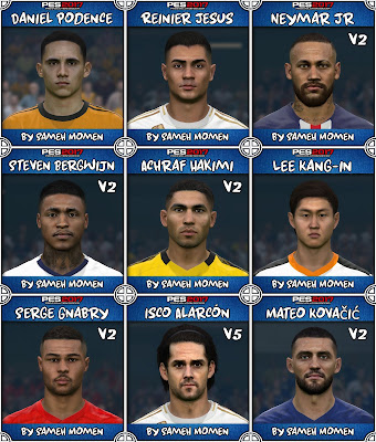 PES 2017 Facepack March 2020 by Sameh Momen