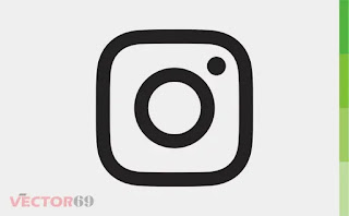 Instagram Icon - Download Vector File CDR (CorelDraw)