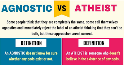 explanation of atheists and agnostics
