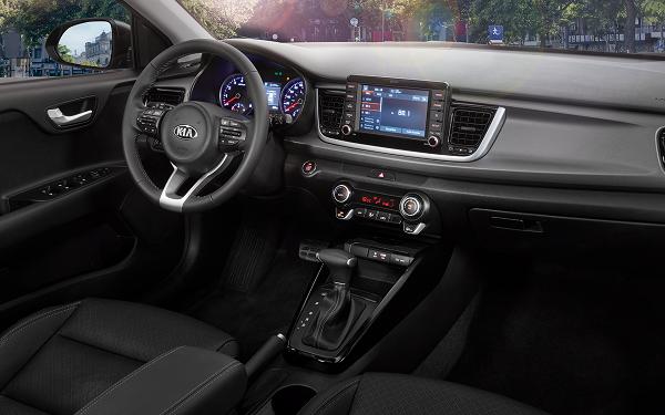 Interior Kia Rio Hatchback (2018)