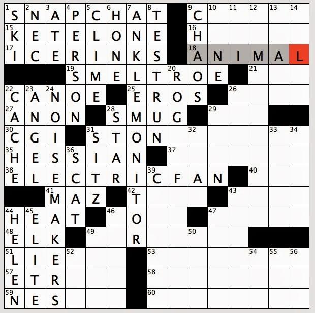 Crossword Clue Kitchen Utensil 5 8