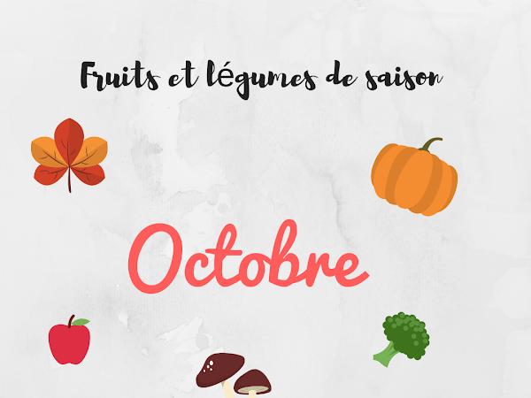 Fruits et légumes #Octobre