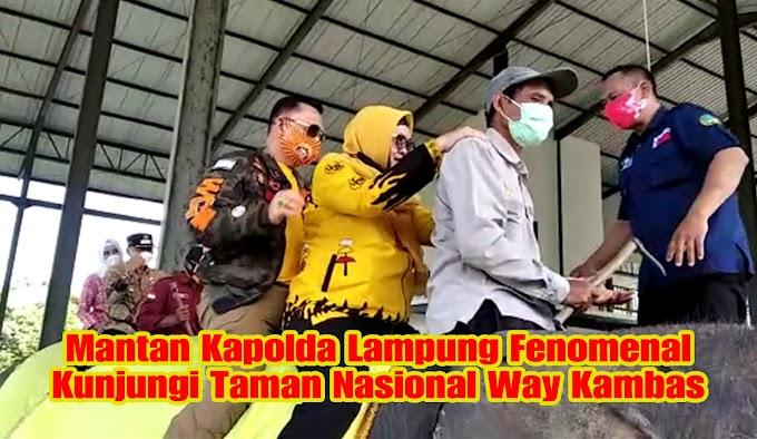 Mantan Kapolda Lampung Fenomenal Kunjungi Taman Nasional Way Kambas