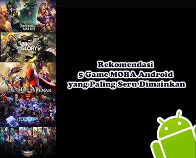 Game dengan genre MOBA atau memiliki kepanjangan Multiplayer Online Battle Arena termasuk tipe game yang banyak diminati. Hal ini dikarenakan game MOBA bisa dimainkan secara bersama-sama. Selain itu, game ini tak hanya bisa dimainkan di komputer saja, melainkan juga ponsel Android. Bagi anda yang merasa tertantang ingin memainkan game MOBA Android, disini Kang Arif akan rekomendasikan beberapa game terpopuler yang bisa anda coba mainkan bersama teman.