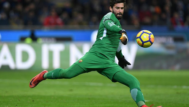 Mercato AS Rome: Agreement with Liverpool for Alisson