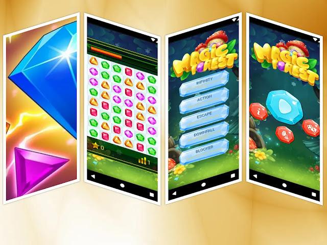 Jewel Forest match 3 - Jocuri android