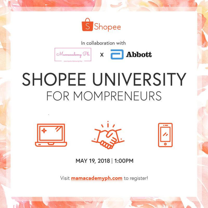 Shopee Collaborates with Mamacademy PH and Abbott for Mompreneurs