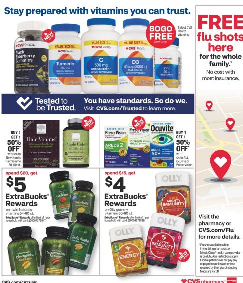 CVS Weekly Ad Preview 10/4-10/10