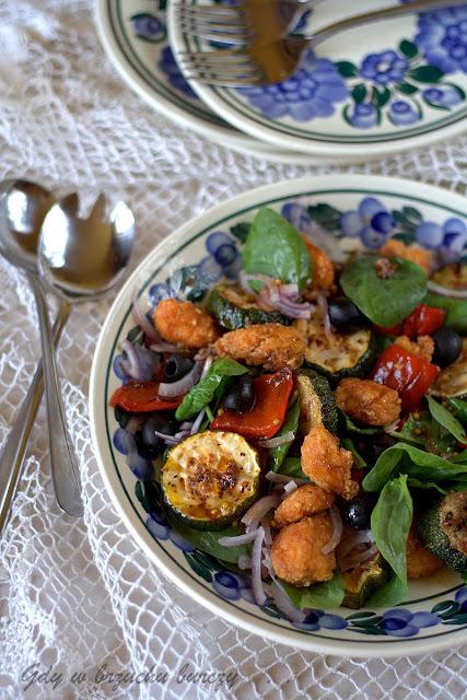 Sałatka z warzywami