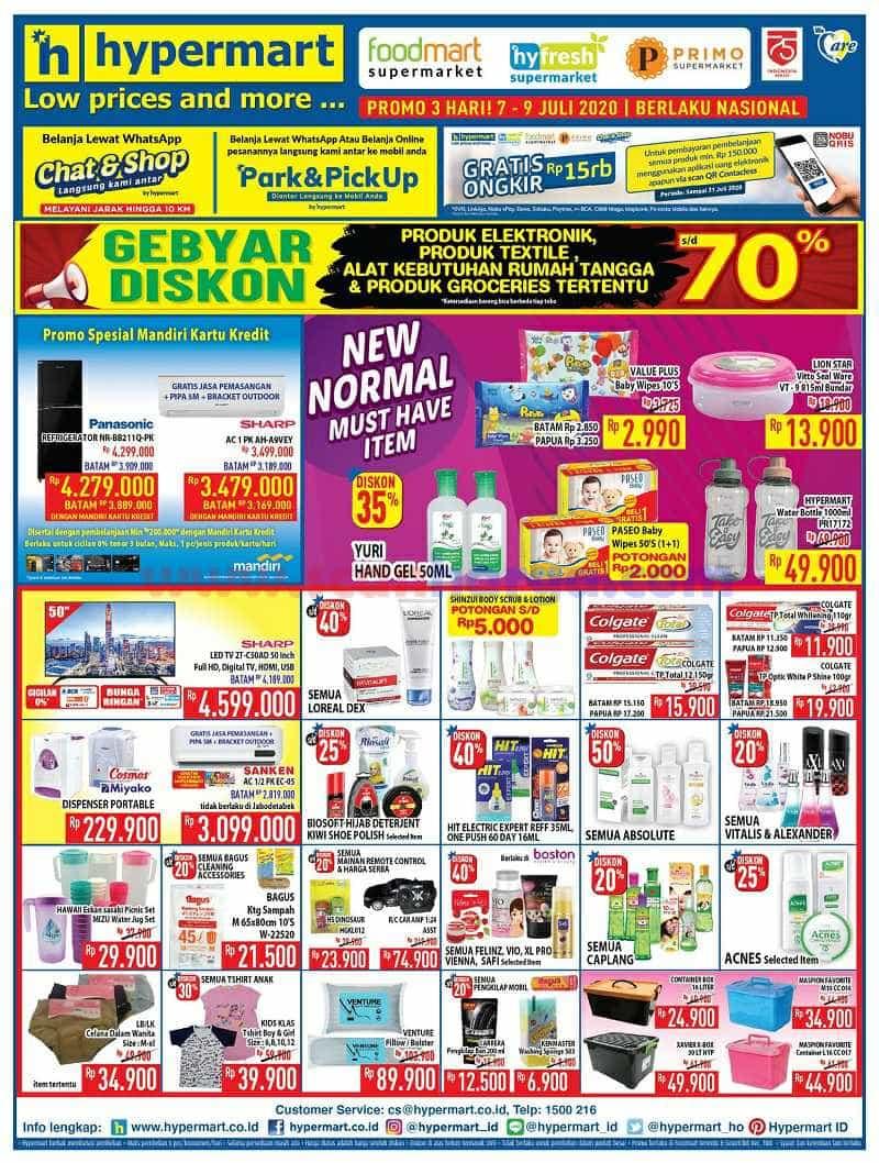 Katalog Promo Hypermart Weekday Terbaru 7 - 9 Juli 2020 2