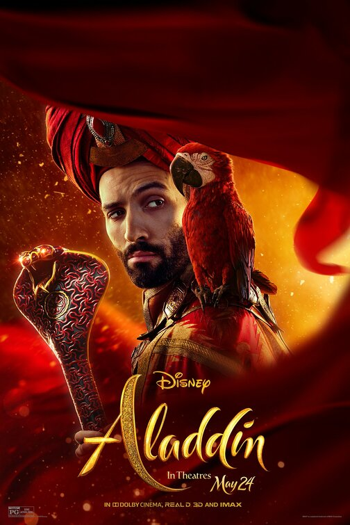 Jafar Aladdin movie poster