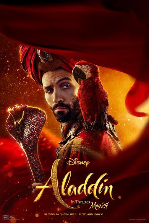 Jafar Aladdin movie poster
