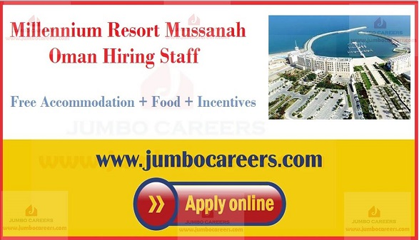 Current hotel jobs in Oman,