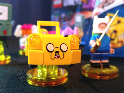 LEGO Dimensions Video Game Fall 2016 Preview Adventure Time Jake Car