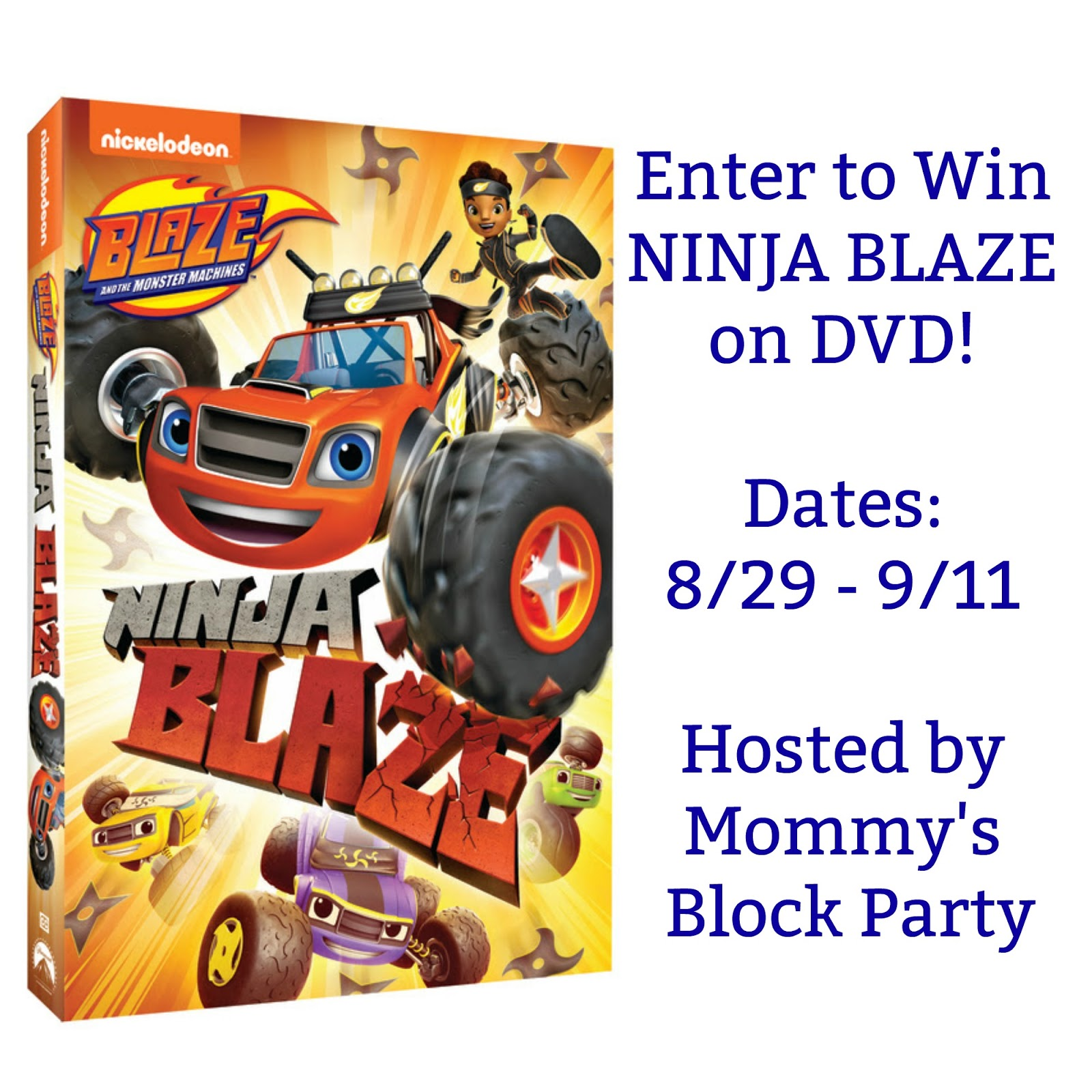 Blaze And The Monster Machines Ninja Blaze Now Available On Dvd