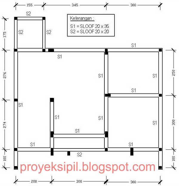 Cara Mudah dan Cepat Menghitung Volume Beton Sloof Rumah