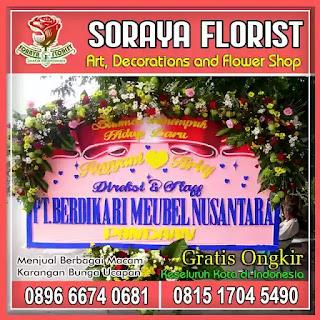 Model Bunga Papan Di Daerah Tertentu