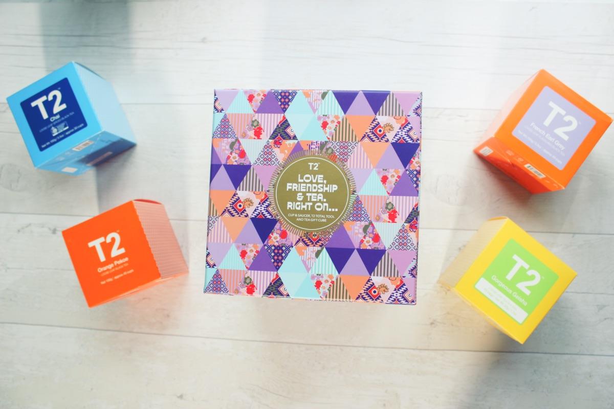 T2 Vintage Tea Bohemian Boho Hippy Gift Set