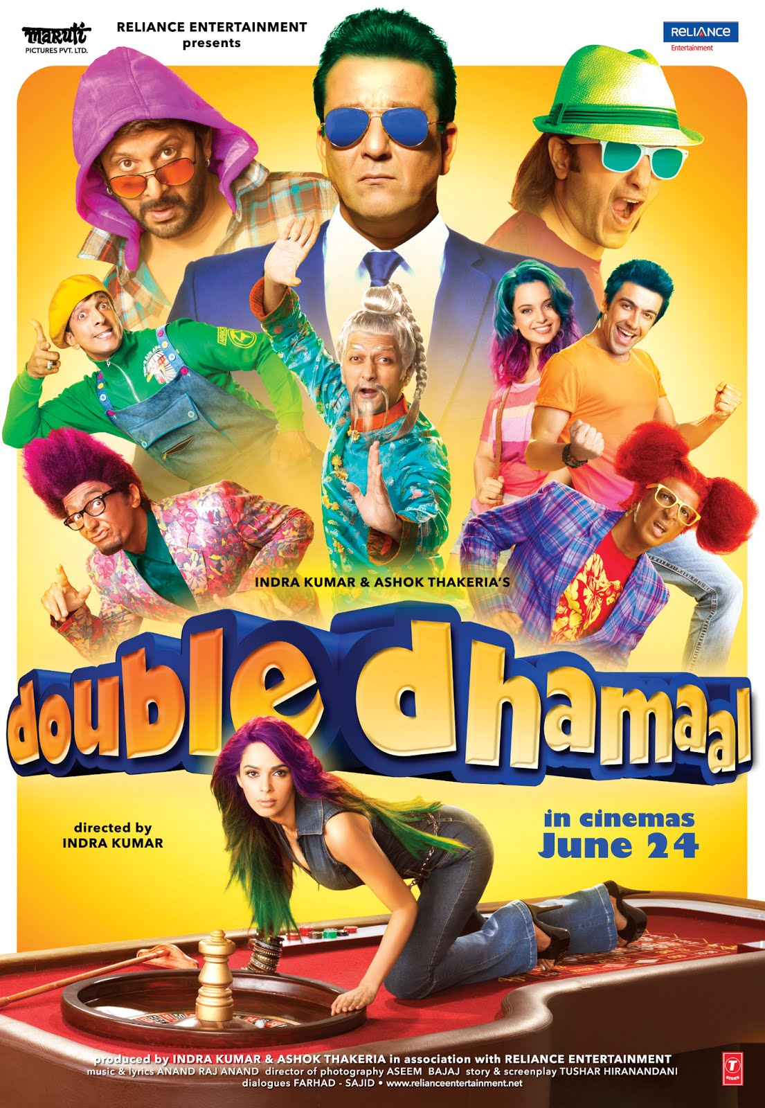 Double Dhamaal (2011) Hindi 720p BluRay 1.5GB