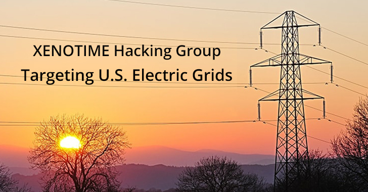 XENOTIME Hacking Group