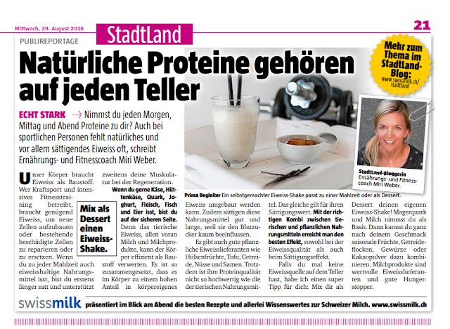 Blick am Abend, StadtLand Blog, Blog, swissmilk, Ernährung, besser essen, gesund essen, Foodblog, Ernährungsblog, Schweizer Blog