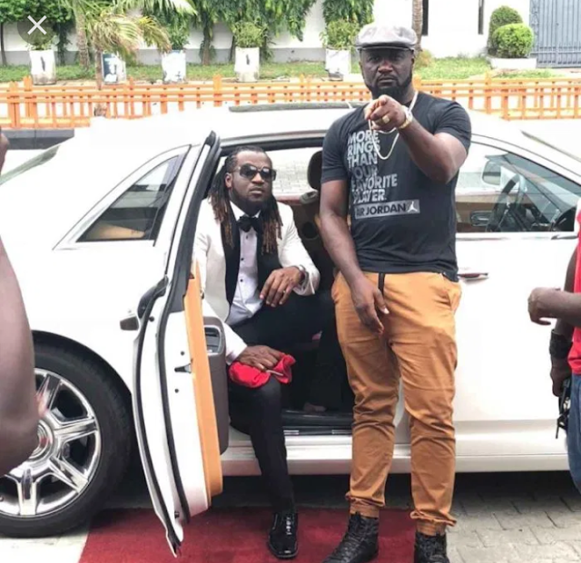 Rudeboy celebrates his Elder Brother Jude on his birthday while Peter ignores them – Is everything okay with the Okoye's?