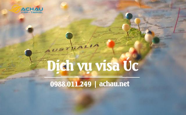 Quy trình xin visa Úc