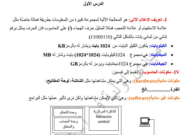 كتاب تكنولوجيا الاعلام والاتصال pdf