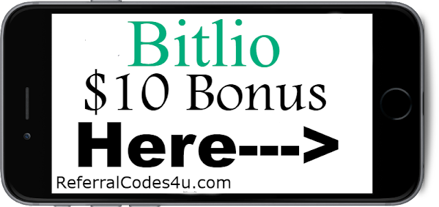 Get a $10 Sign up Bonus when you join Bitlio through Referral Link!
