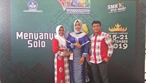 Khusnul Fatimah, Siswi SMKN 1 Dompu Tampil Memukau di FLS2N Lampung