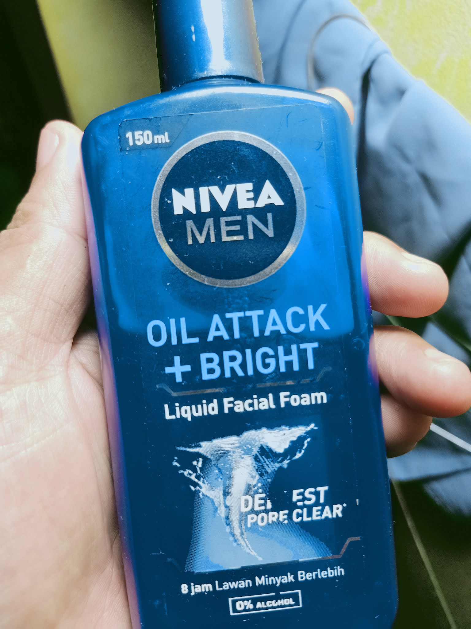 NIVEA MEN OIL ATTACK wajah bikin segar