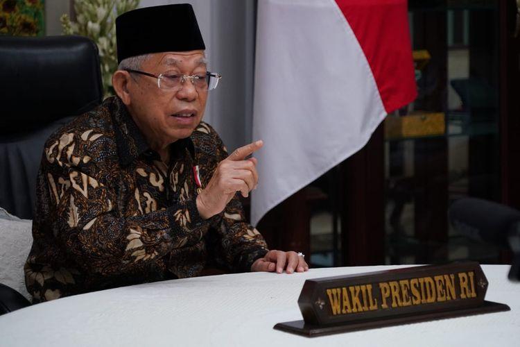Pernyataan Wapres Ma'ruf Amin soal Wafatnya Ulama Tuai Beragam Kecaman, Jubir Beri Klarifikasi