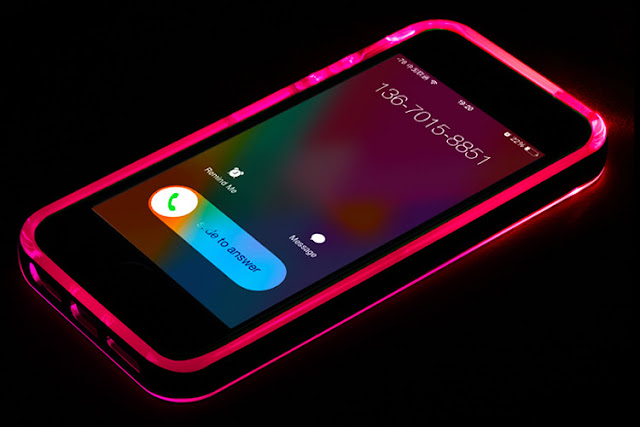 Winnow iPhone 8 case 9 color in 1 LED Flash Case