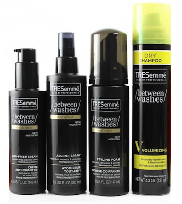 Skip the shampoo but keep the style with the TRESemme Between Washes collection!