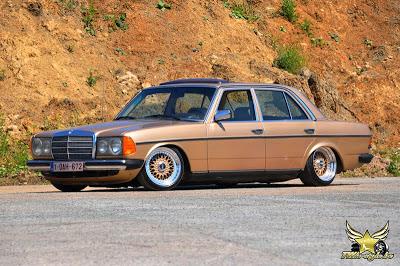 Mercedes W123 Stance