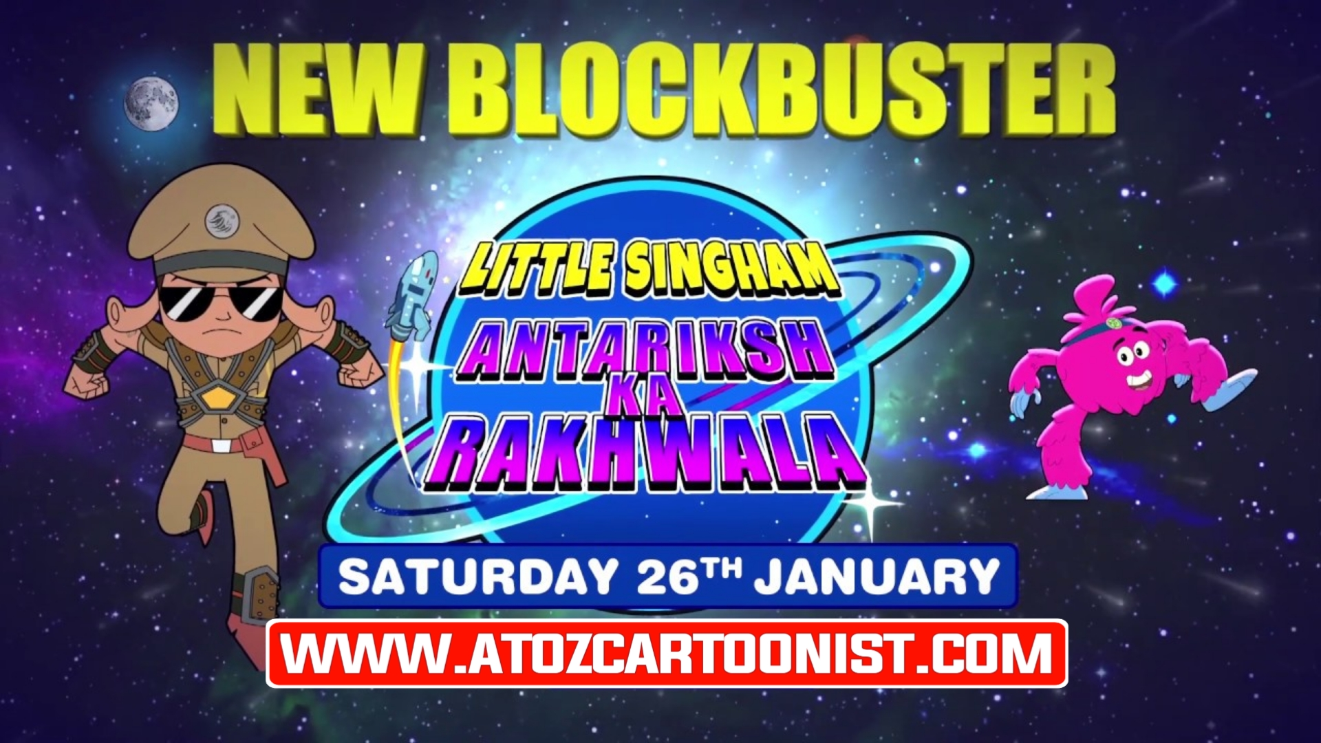 LITTLE SINGHAM : ANTARIKSH KA RAKHWALA FULL MOVIE IN HINDI DOWNLOAD IN [720P HD]