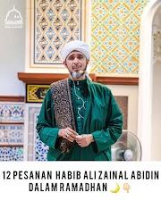 12 Pesan Ustaz Al Habib Ali Zaenal Abidin