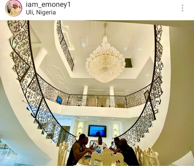 Emoney Shows Off Interior Of His Anambra Mansion – Photos