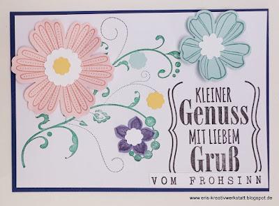 Frühling to go Päckchen am Muttertag mit Frühlings-Grußkarte Stampin' Up! www.eris-kreativwerkstatt.blogspot.de