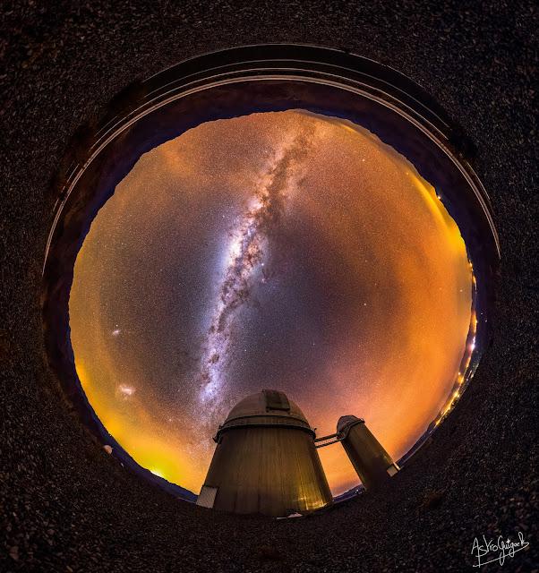 Panorama 360° au-dessus de l'observatoire de La Silla - #MeetESO