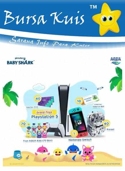 Kuis Aqua Online Terbaru 2021 Baby Shark Dance