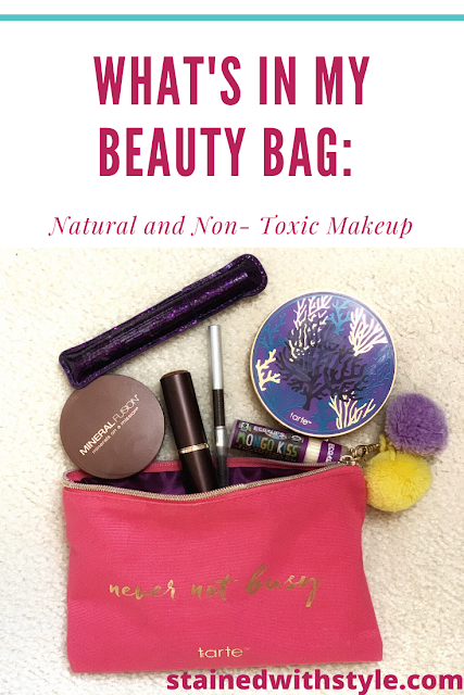 What's in My Makeup Bag: Natural and Non-Toxic Makeup rated by the EWG and Think Dirty, non toxic makeup clean beauty makeup bag whats in my makeup bag ewg think dirty skin care environmental working group natural beauty skin type mineral foundations cosmetic and personal care cosmetic case beauty product pressed powders makeup products ilia beauty zinc oxide sun protection coal tar products health impact processed food dirty is an app personal care products natural ingredients