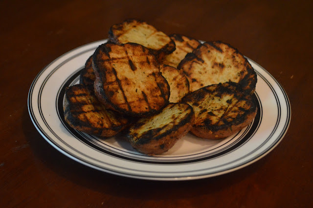 Grilled Ranch Red Potatoes