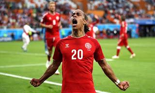 Denmark take on Peru 1-0