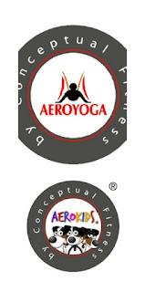 logo aeroyoga aerokids